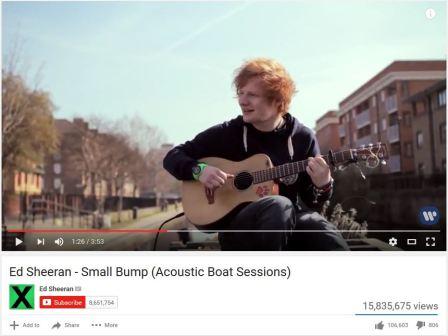 Ed Sheeran Chemtrails 2011