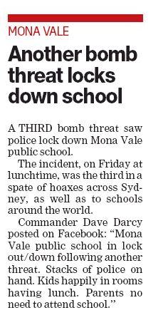 Mona Bomb Threat